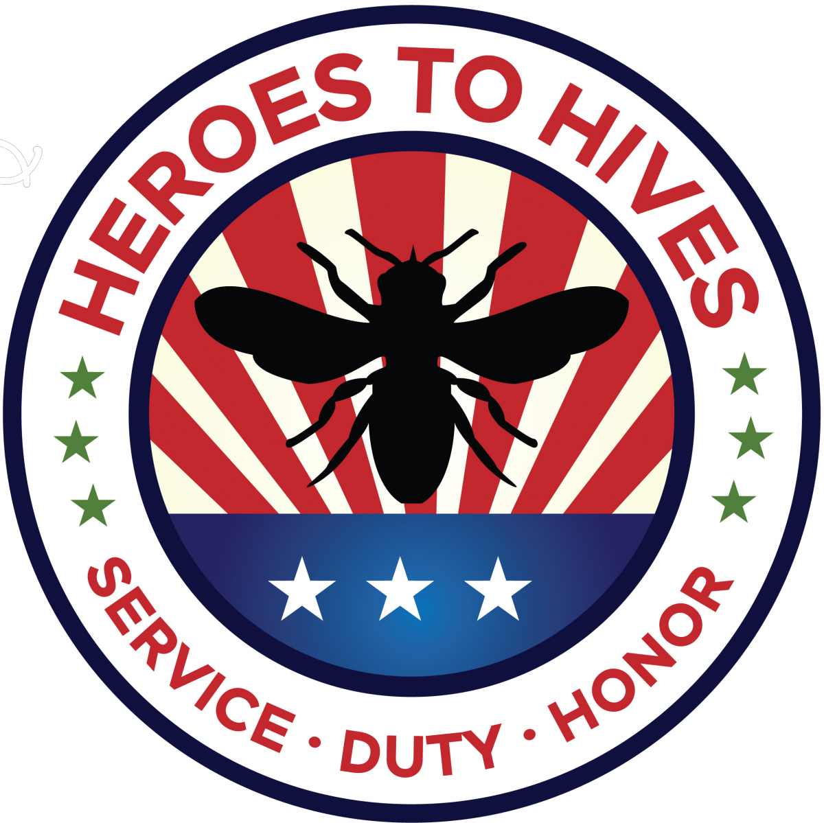 heroes to hives logo